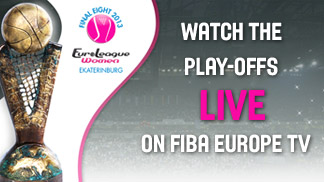 Watch the EuroLeague Women play-offs live on FIBA Europe TV